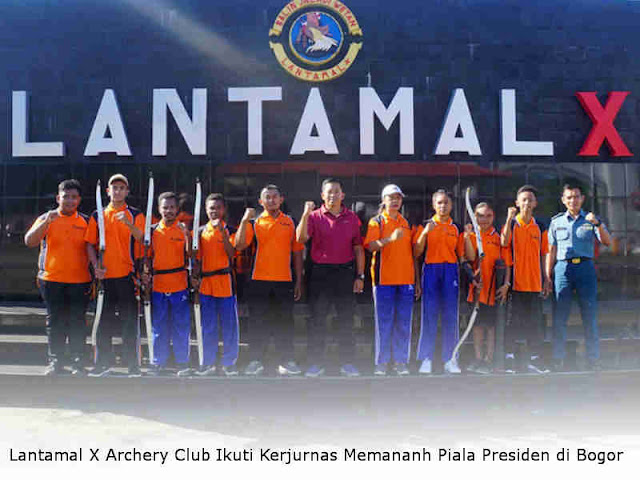 Lantamal X Archery Club Ikuti Kerjurnas Memananh Piala Presiden