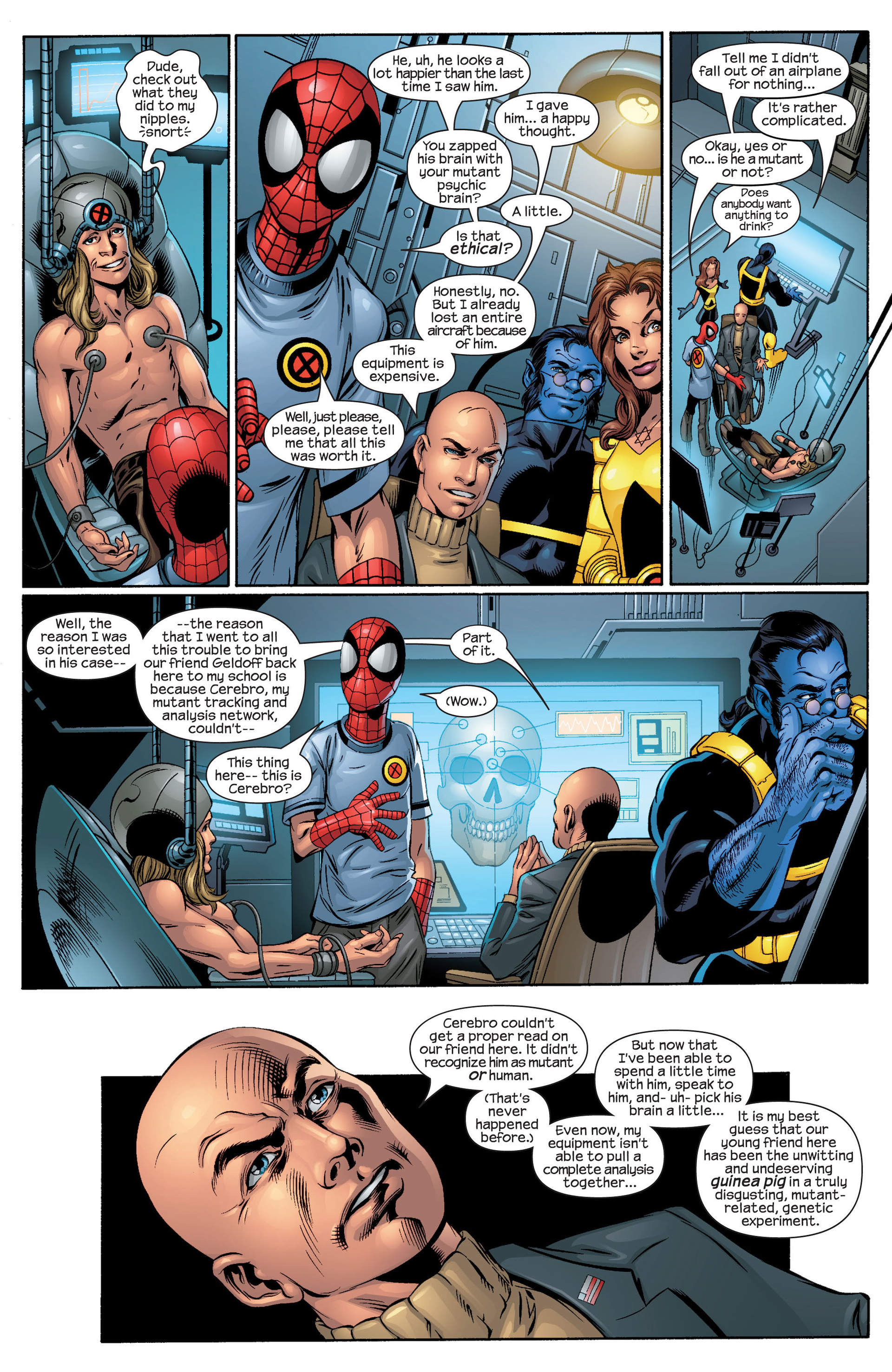 Read online Ultimate Spider-Man (2000) comic -  Issue #44 - 15