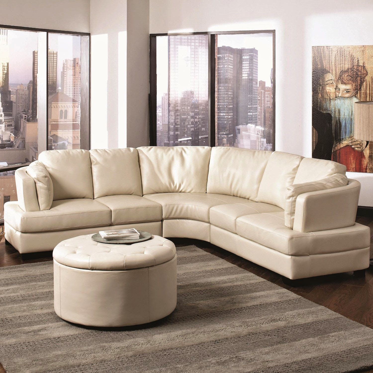 Leather Round Sofas Manufacturers Ashley Furniture Curved Sofa Website Reviews For Sale