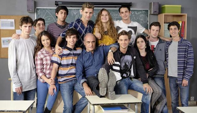 plantilla de actores de Merlí en la primera temporada