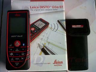 Darmatek Jual Leica DISTO™ D3a BT laser Distance 100 Meter
