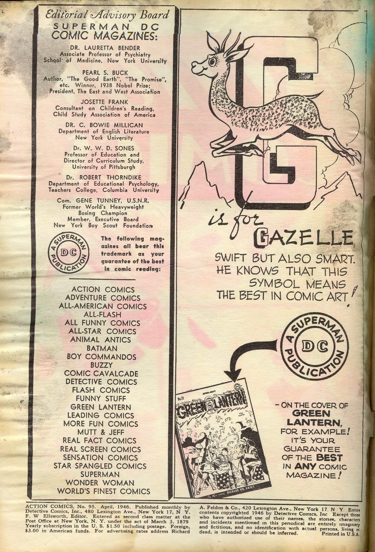 Action Comics (1938) 95 Page 2