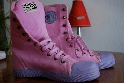 Le Palladium Chaussures D'isa Troc Vide Montantes ESRwRq0