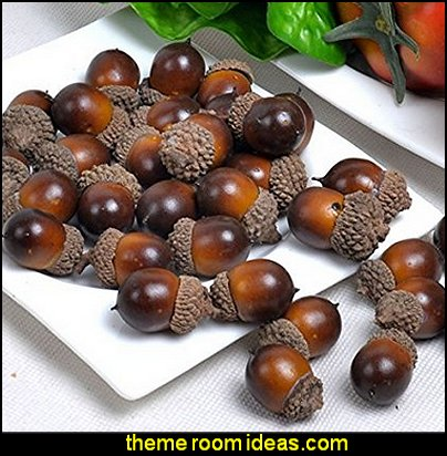 Artificial  Acorn  Decoration Fake Fruit Home House Kitchen Decor