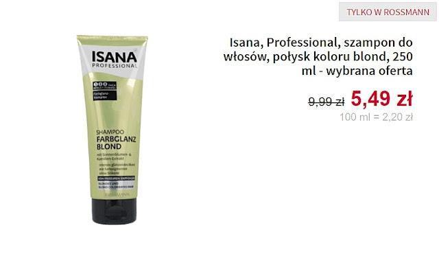 Isana, Professional - szampon do włosów