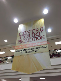 AEON Triumph Branded Clearance Sale 2017