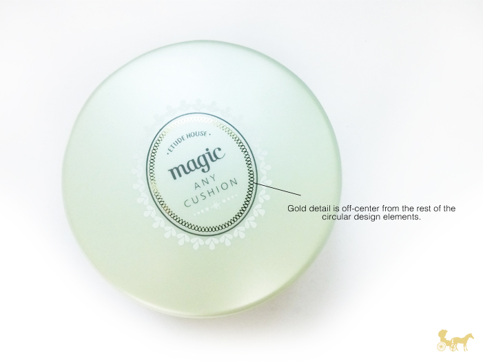 fake etude house cushion makeup compact