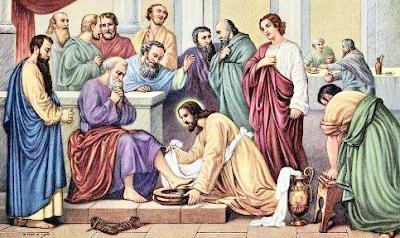Persiapan Komuni Pertama (Yesus Membasuh Kaki Sahabat-Sahabat-Nya)