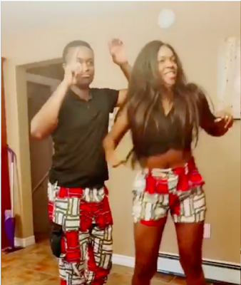 Image result for Omoni Oboli's husband beat her during 'dance competition' in hilarious video throw back