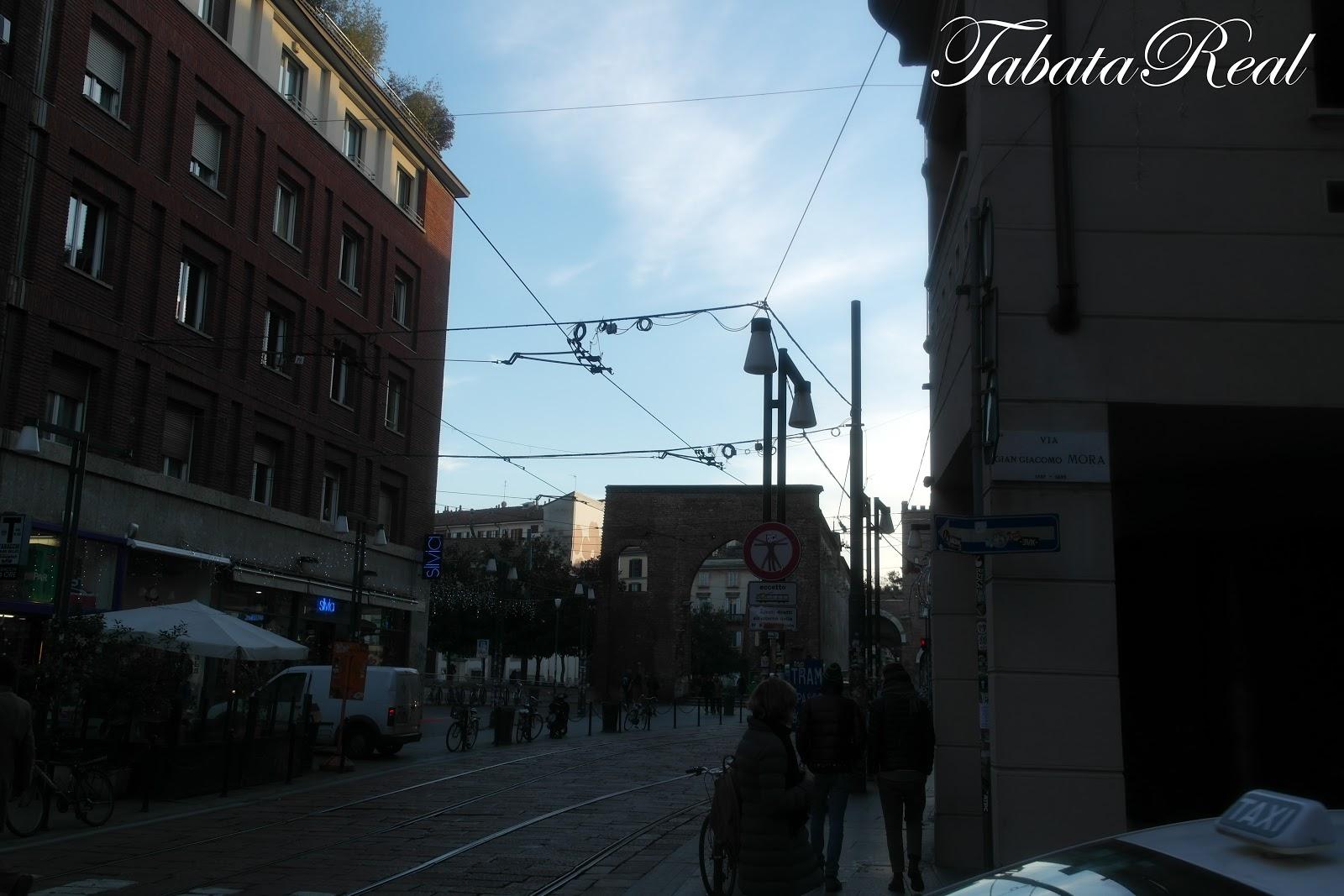 TabataReal Viaje Viaggio a MILANO
