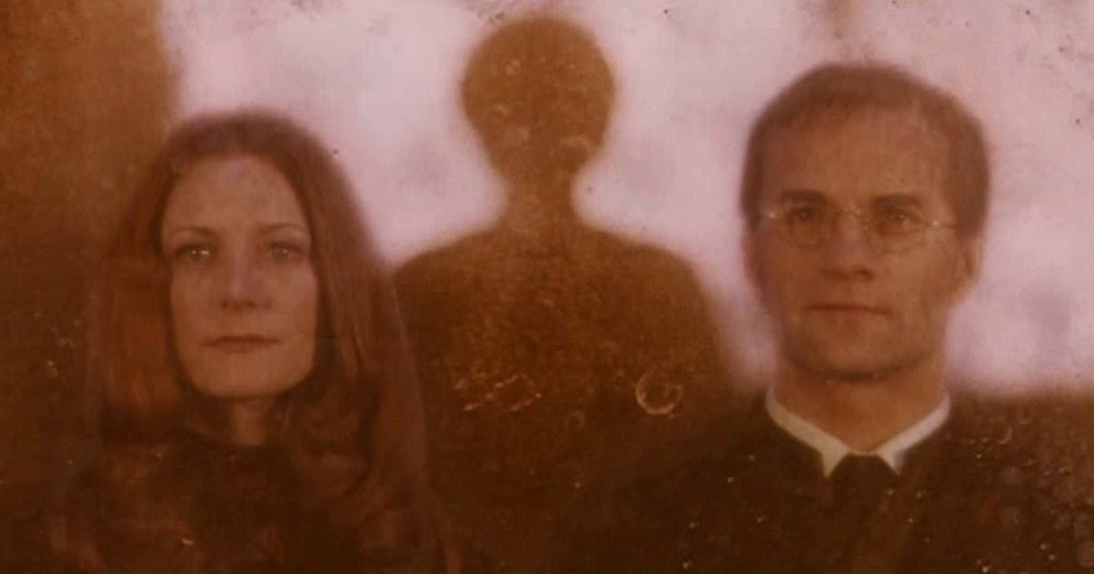 How old were James and Lily Potter when they died ...  Lily And James Potter In The Mirror
