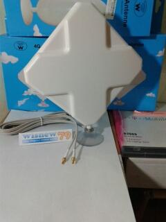 Antena External Modem 4G LTE MIMO 35 dbi Dual TS9