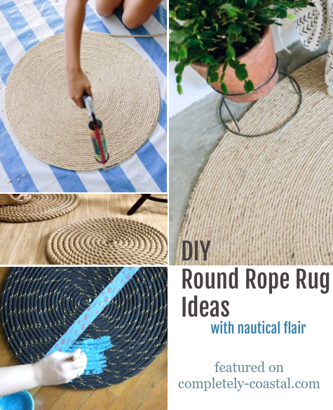 DIY Round Rope Rug Tutorials