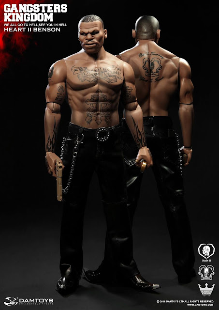 Toyhaven Dam Toys 1 6th Scale Gangsters Kingdom Quot Heart Ii