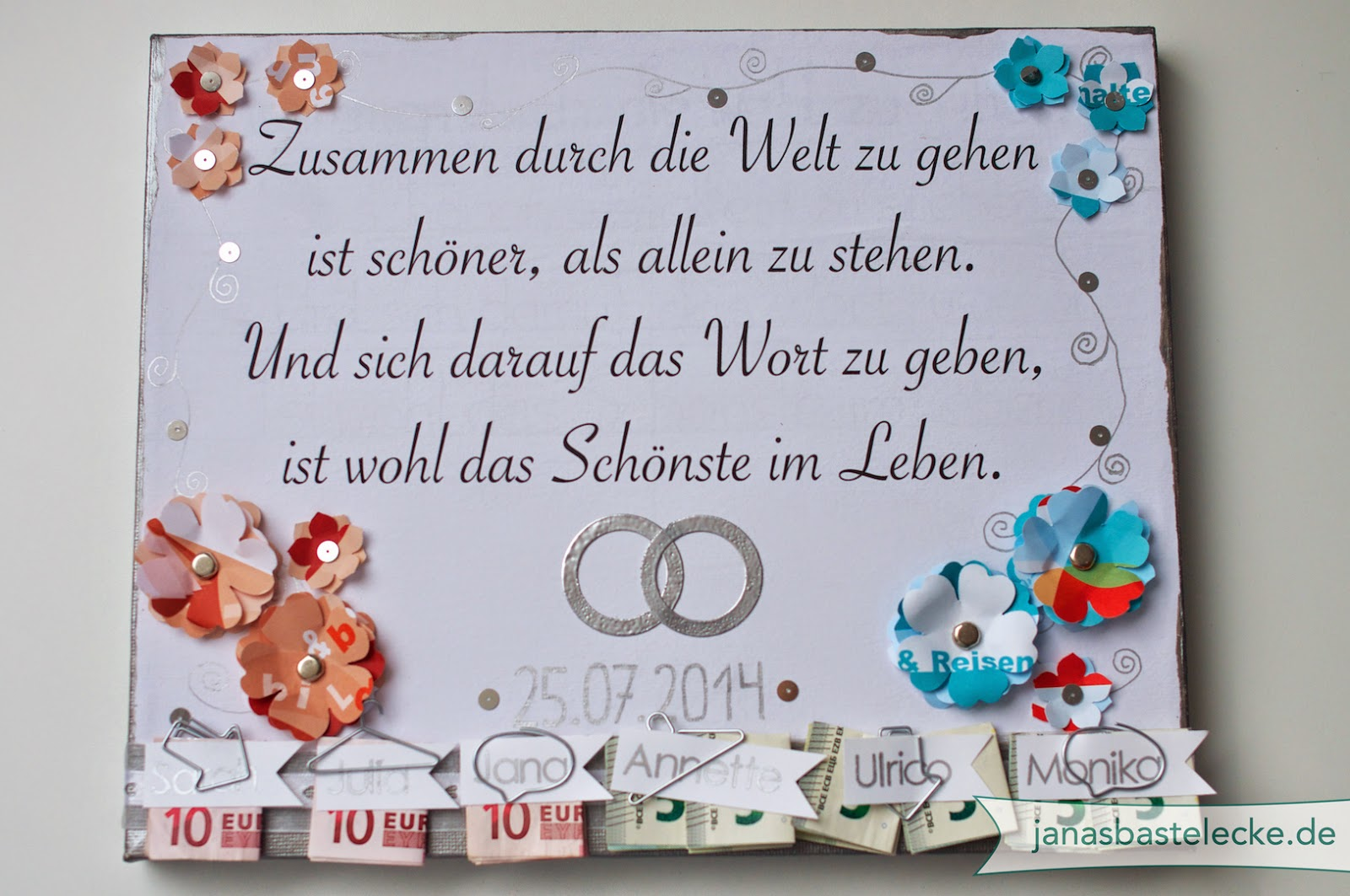 Leinwand Zur Hochzeit Graffiti Leinwand Als Hochzeitsgeschenk Eine