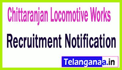Chittaranjan Locomotive Works CLW Recruitment Notification