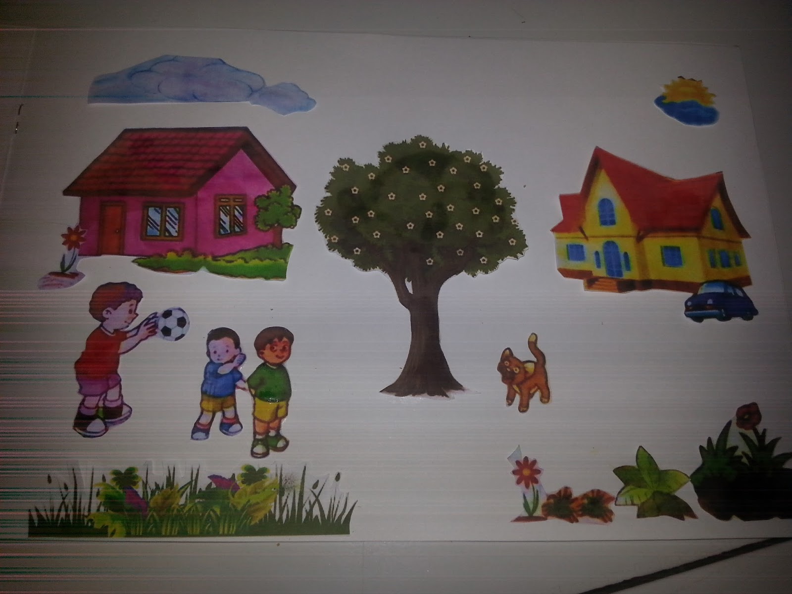 Gambar Montase Lingkungan Sekolah