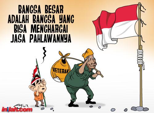 ✓ Terbaru Gambar Orang Bawa Bendera Indonesia Kartun