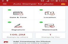 Auto Stamper: app que permite agregar fecha y hora a las fotos en Android