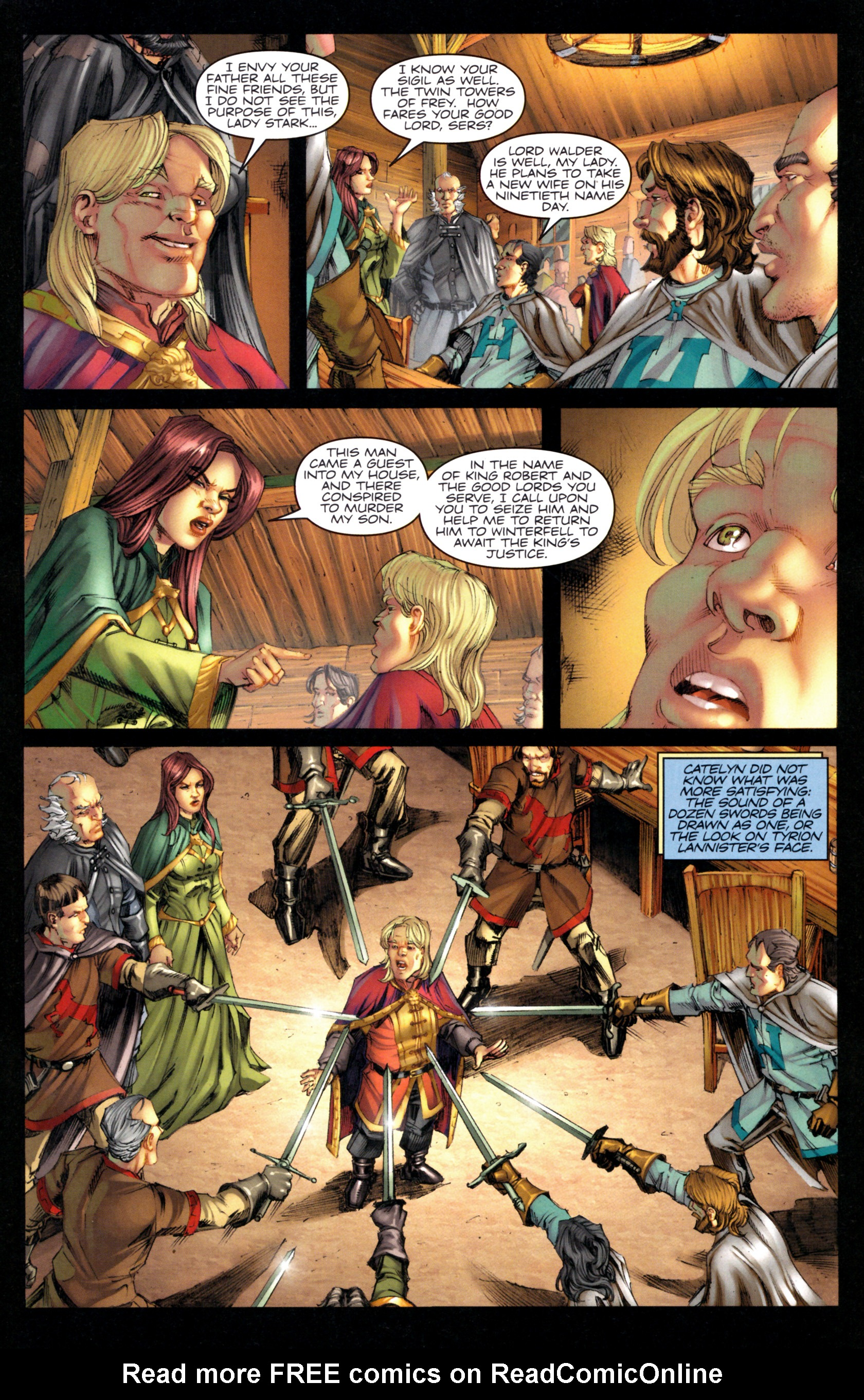 Read online A Game Of Thrones comic -  Issue #9 - 7