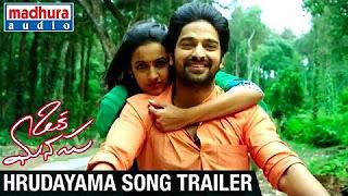Oka Manasu Movie Songs _ Hrudayama Song Trailer _ Naga Shaurya _ Niharika Konidela _ Rama Raju