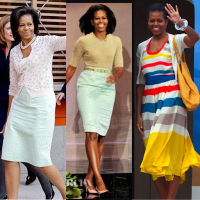 michelle obama fashion tips, michelle obabma style, michelle obama outfits