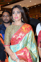 Shriya Saran Looks Stunning in Silk Saree at VRK Silk Showroom Launch Secundrabad ~  Exclusive 164.JPG
