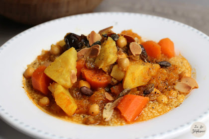 Tajine de légumes d'automne ou comment mettre de la bonne humeur dans son assiette!