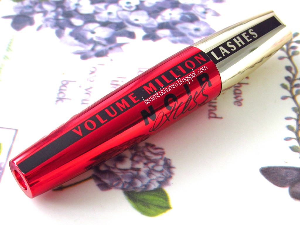 84f6f33e3cc L'oreal Volume Million Lashes Noir Excess Mascara | Benim Tutkum ...