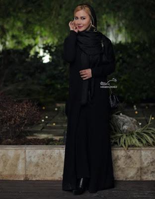 Iranian actress Anahita
