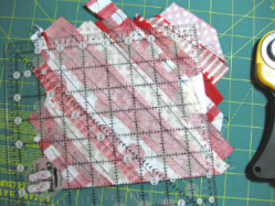 string quilt tutorial Thistledown and company