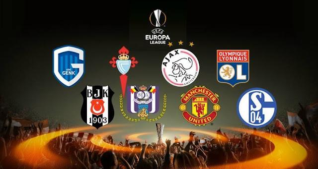 Confrontos das quartas de final da Europa League são sorteados
