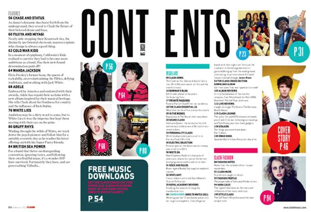 GCSE Media: Year 11: Magazine Contents Analysis Terms