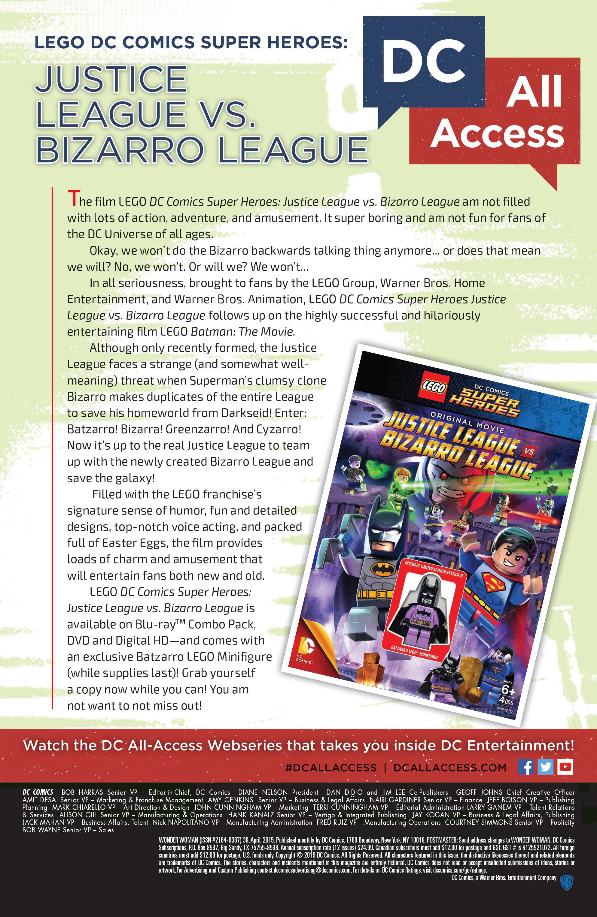Read online Wonder Woman (2011) comic -  Issue #39 - 21