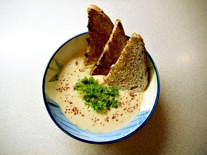 celerovo - mrkvový krém, polévka