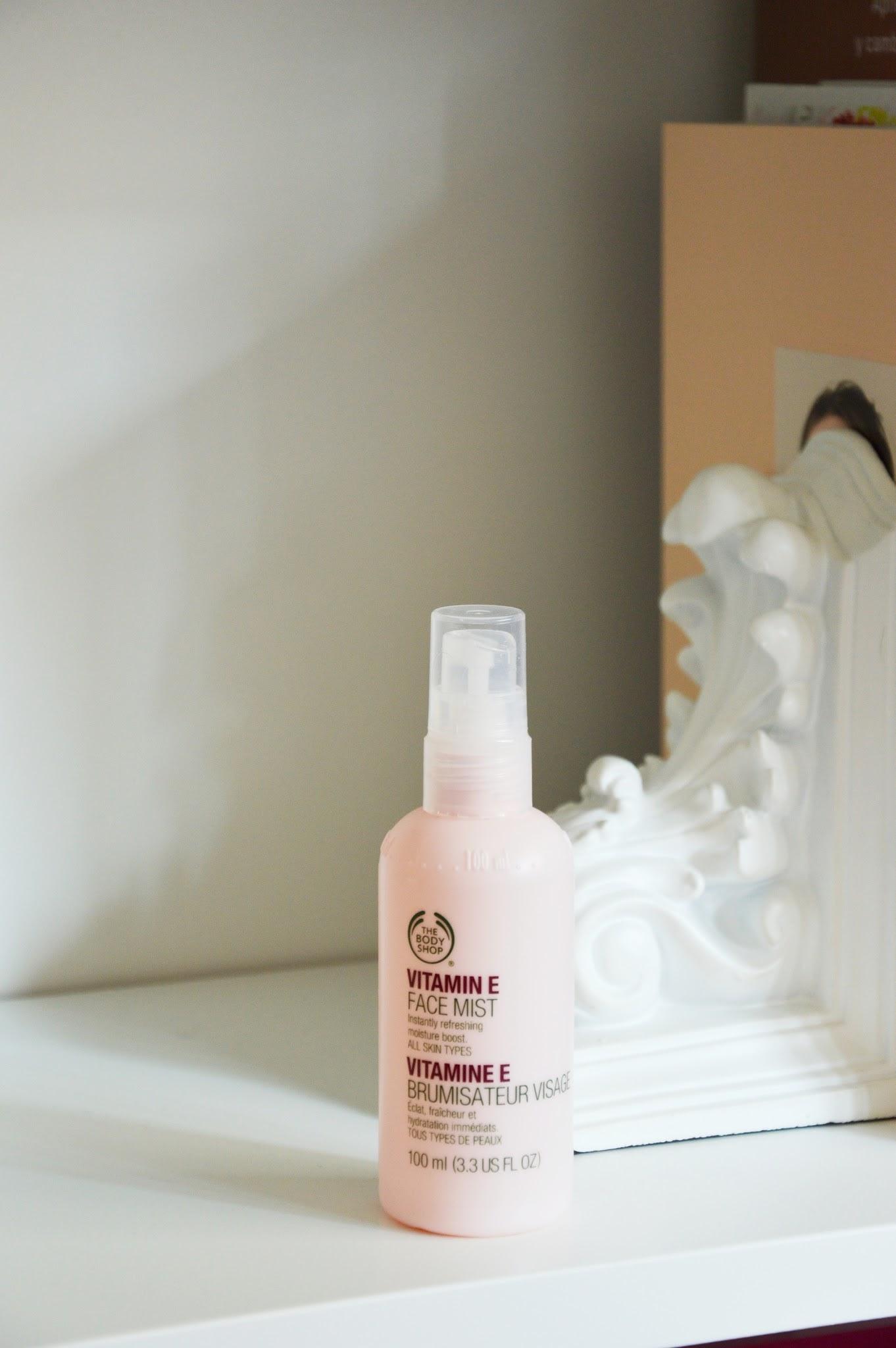 Spray Facial Vit E The Body Shop
