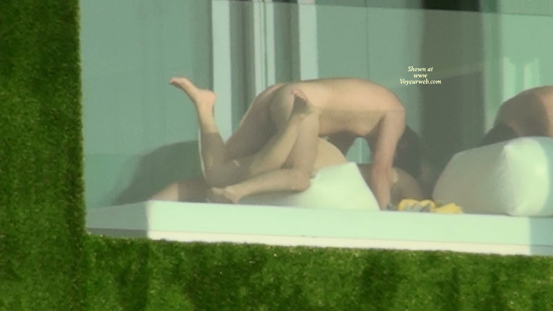 Hotel Window Nude 52
