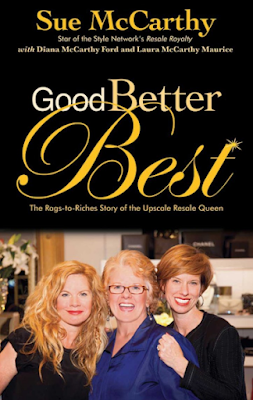 Good Better Best: by Resale Queen Sue McCarthy book review & giveaway