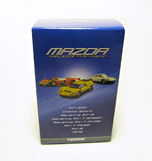 Kyosho Mazda Rotary Engine Minicar Collection: 787B Karuwaza Version