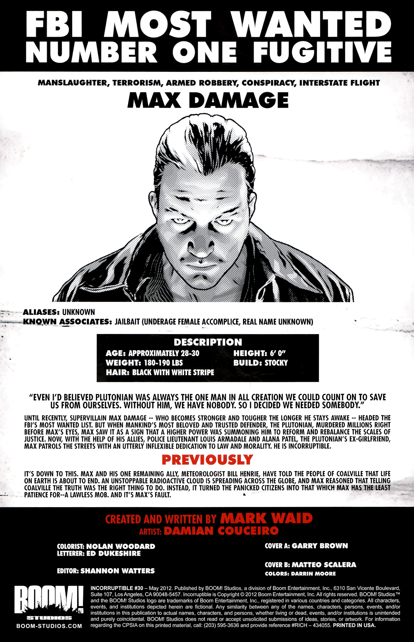 Read online Incorruptible comic -  Issue #30 - 3