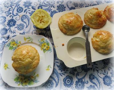 Lemon Yogurt Muffins