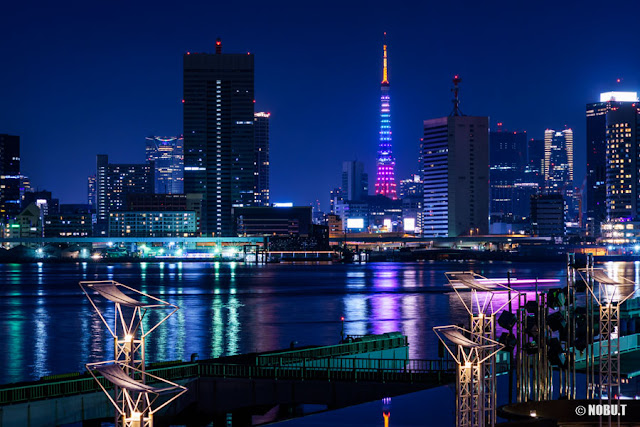 東京タワー・「レインボーダイヤモンドヴェール」