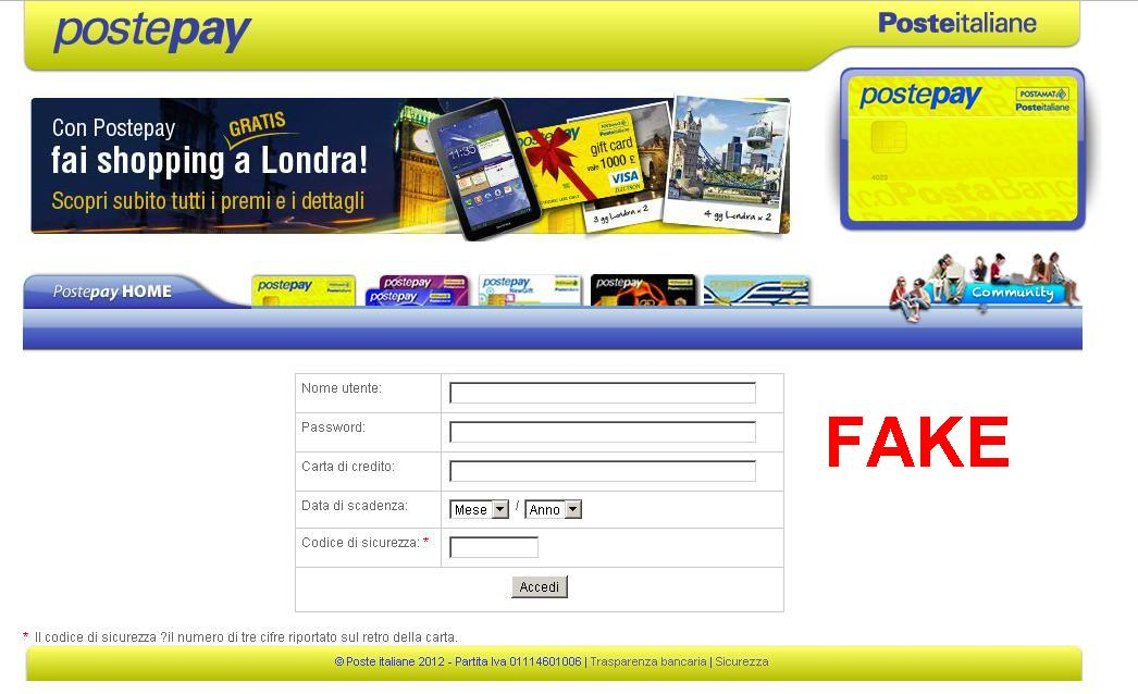 Security Obscurity Blog Poste Italiane Phishing Emails 2