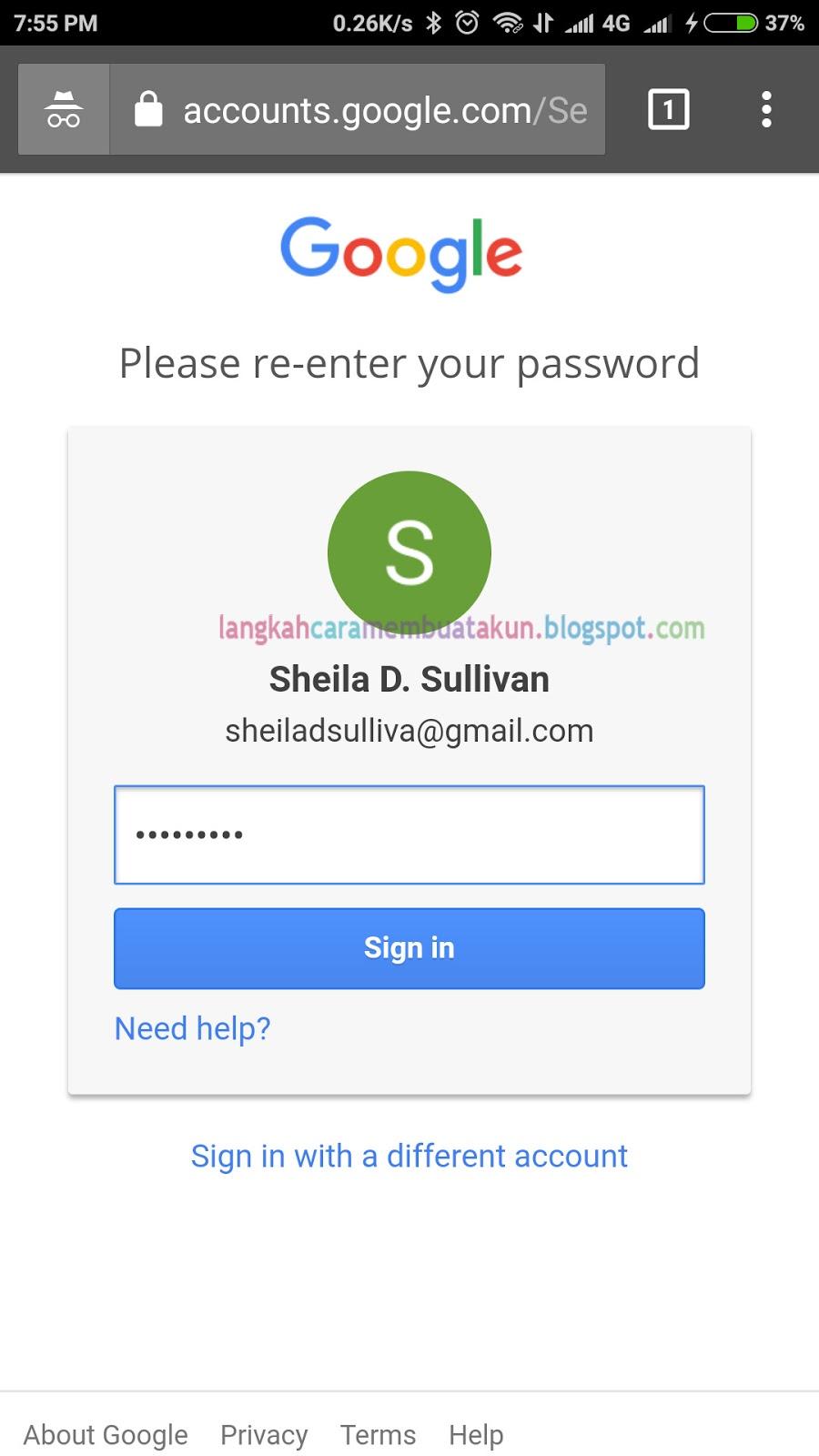 Cara Menyetel Ulang Sandi Gmail | Ubah Kata Sandi Email
