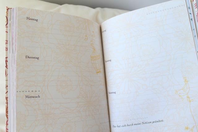 Dankbarkeit Achtsamkeit One line a day Tagebuch Jules kleines Freudenhaus