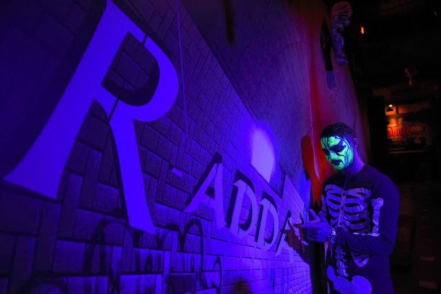 R-ADDA ROOF TOP HIDEOUT BAR HOSTED HALLOWEEN NIGHT 2016