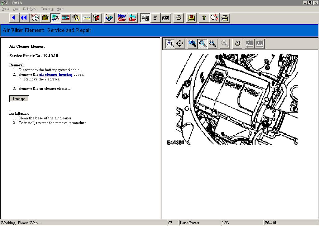 Alldata v10.40w Import Disc 15 1982-2011 full version