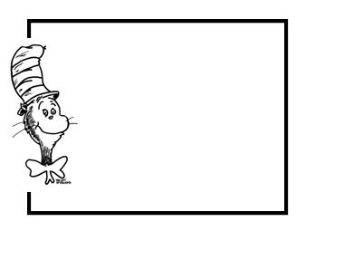 Dr Seuss Free Clip Art Border | New Calendar Template Site