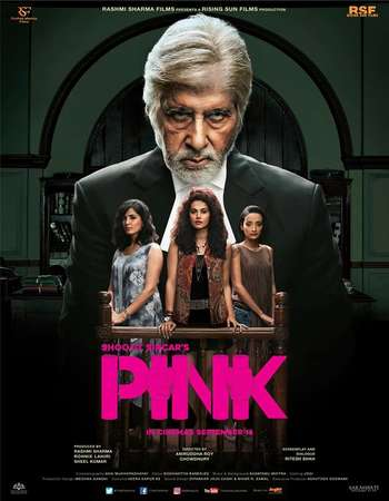 Poster Of Pink 2016 Hindi 160MB DVDScr HEVC Mobile Watch Online Free Download