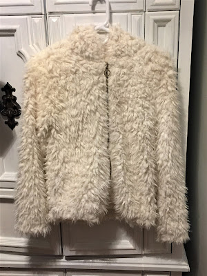 walmart no boundaries white sherpa hoodie